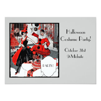 "The Costume Party 5.5"" X 7.5"" Invitation Card"