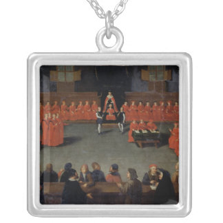 The Council of Malines Silver Plated Necklace