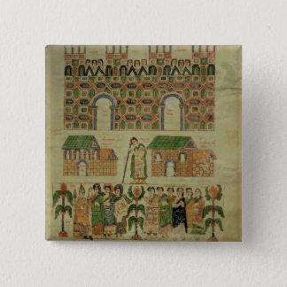 The Council of Toledo 15 Cm Square Badge