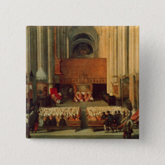 The Council of Trent, 4th December 1563 15 Cm Square Badge