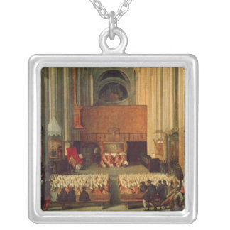 The Council of Trent, 4th December 1563 Silver Plated Necklace