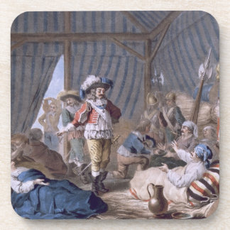 The Count of Harcourt (1601-66) shows his humanity Beverage Coaster