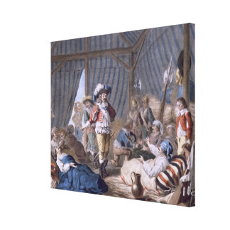 The Count of Harcourt (1601-66) shows his humanity Gallery Wrapped Canvas