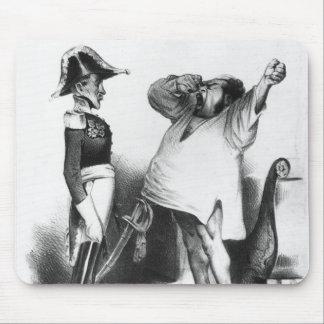 The Count Villaflor telling Pedro Emperor Brazil Mouse Mat