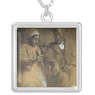 The Counter-Spell by the Image Silver Plated Necklace