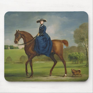 The Countess of Coningsby in the Costume of the Ch Mouse Pad