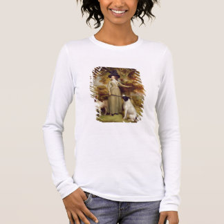 The Countess of Effingham with Gun and Shooting Do Long Sleeve T-Shirt