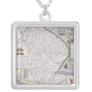 The Countie and Citie of Lyncolne Silver Plated Necklace