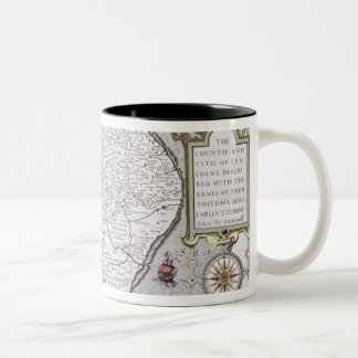 The Countie and Citie of Lyncolne Two-Tone Coffee Mug