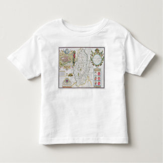 The Countie of Nottingham, engraved by Jodocus Toddler T-Shirt