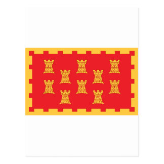 The County Flag of Greater Manchester Postcard