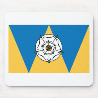 The County Flag of West Yorkshire Mouse Mat