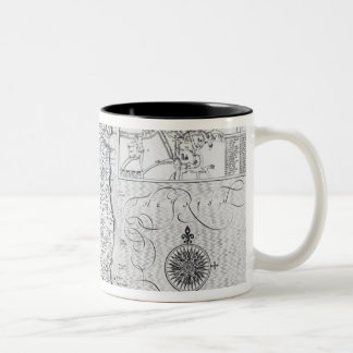 The County of Leinster with the City of Dublin Two-Tone Coffee Mug
