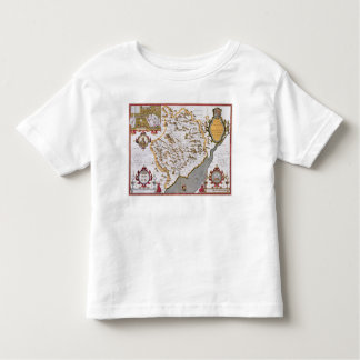 The Countye of Monmouth, engraved by Jodocus Toddler T-Shirt