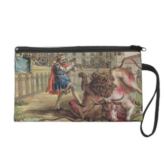 The Courage of Pepin (714-68), engraved by Jean Ba Wristlets