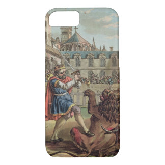 The Courage of Pepin (714-68), engraved by Jean Ba iPhone 8/7 Case