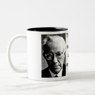 The Courage to Be Paul Tillich Two-Tone Coffee Mug