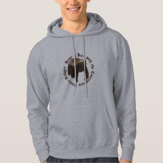 The courageous honey badger Sweatshirt