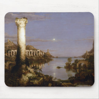 The Course of Empire: Desolation by Thomas Cole Mouse Pad