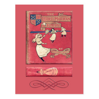 The Court-Harman Girls Postcard Post Card