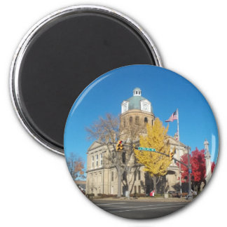 The Court House 6 Cm Round Magnet