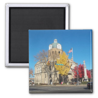 The Court House Square Magnet