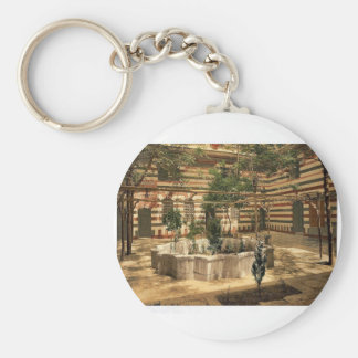 The court of a house Damascus Holy Land i e S Key Chains