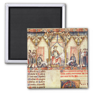 The court of Alfonso X  'the Wise' Magnet