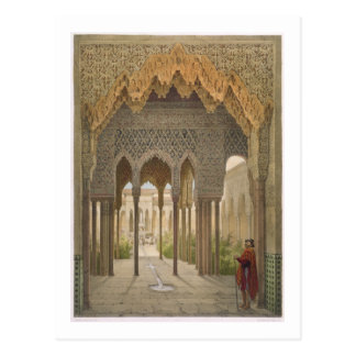 The Court of the Lions, the Alhambra, Granada, 185 Postcard