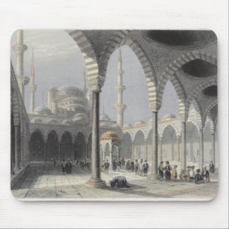 The Court of the Mosque of Sultan Achmet, Istanbul Mouse Pad