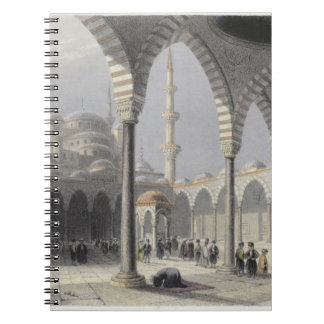 The Court of the Mosque of Sultan Achmet, Istanbul Notebook