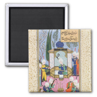 The Court of the Sultan Square Magnet