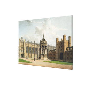 The Court of Trinity College, Cambridge, from 'The Canvas Print