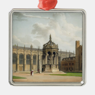 The Court of Trinity College, Cambridge, from 'The Christmas Ornament
