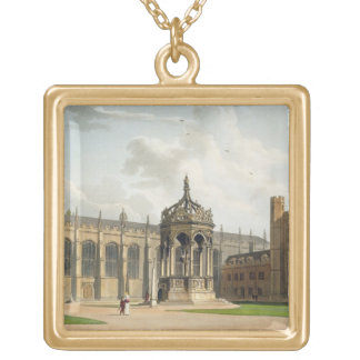 The Court of Trinity College, Cambridge, from 'The Gold Plated Necklace