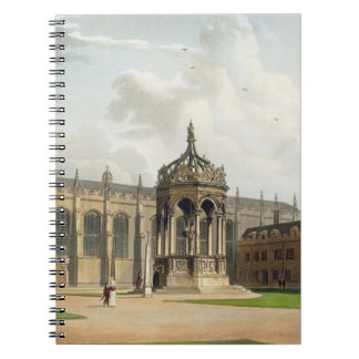 The Court of Trinity College, Cambridge, from 'The Notebook