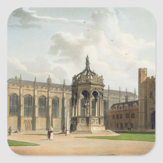 The Court of Trinity College, Cambridge, from 'The Square Sticker