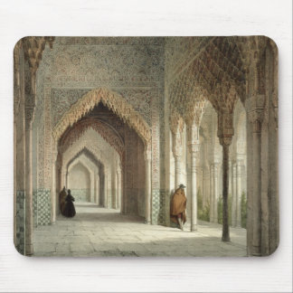 The Court Room of the Alhambra, Granada, 1853 (lit Mouse Mat
