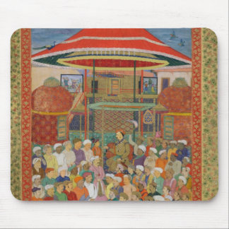 The Court Welcoming Emperor Jahangir Mouse Mat