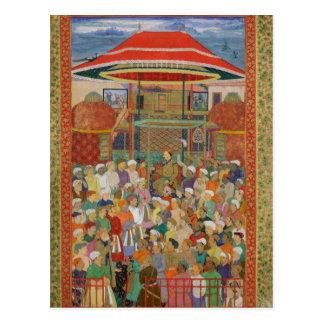 The Court Welcoming Emperor Jahangir Postcard