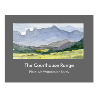 The Courthouse Range Postcard