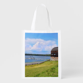 The Cove, Old Wethersfield CT Reusable Grocery Bag