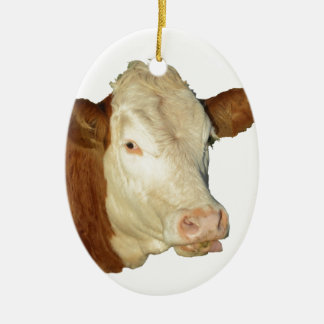 The Cow Christmas Ornament
