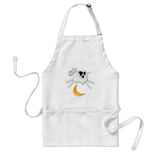 The Cow Jumped Over the Moon Aprons