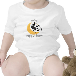 The cow jumped over the moon cute kids shirt