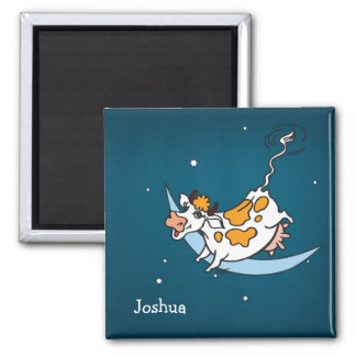 The Cow jumped over the Moon Magnet