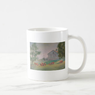 The Cow Path and Poem Coffee Mug