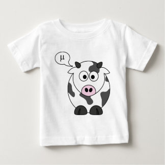 The Cow Says μ Baby T-Shirt