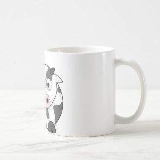 The Cow Says μ Basic White Mug