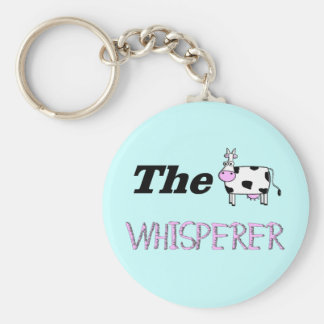 The Cow Whisperer Gifts Key Ring